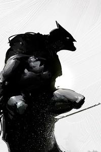 Batman Dark Artwork 4k
