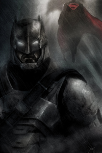Batman Dark Artwork