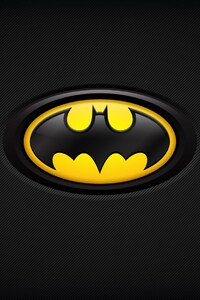 240x320 Batman Dark Background Logo