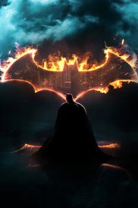 1280x2120 Batman Dark Knight Logo