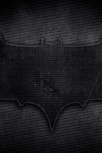 Batman Dark Leather Logo