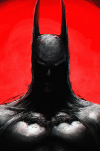 Batman Dark Red