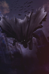 Batman Darkness Behind