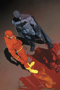 Batman DC Comics Flash Reverse Flash