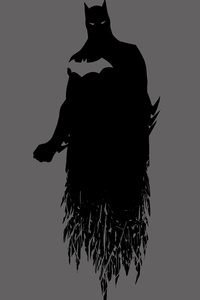 Batman Dceu Minimalism 8k