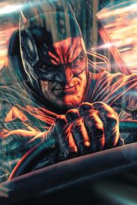2160x3840 Batman Detective Comic Art 4k