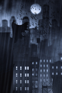 Batman Digital Art Illustration