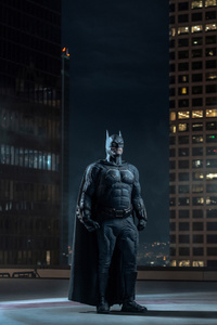 Batman Downtown Gotham Roof