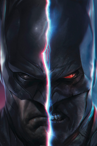 Batman Evil Face