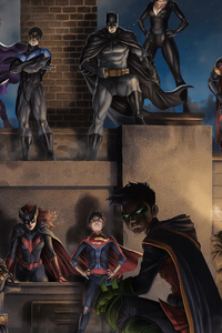 Batman Family And Villians