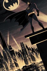 1125x2436 Batman Gotham Alert
