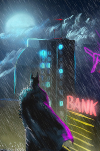 Batman Gotham Art New