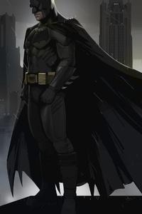 480x800 Batman Gotham Art