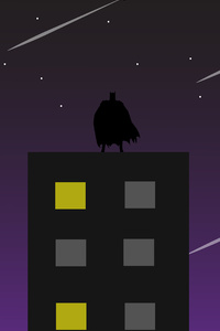 Batman Gotham Batsignal 4k