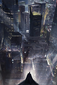 480x800 Batman Gotham City 4k New