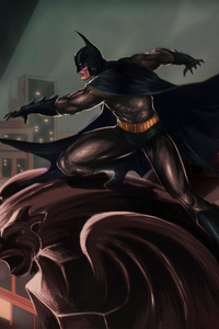 Batman Gotham City Art