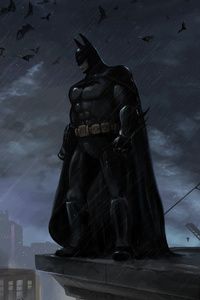 Batman Gotham Knight Hero 4k