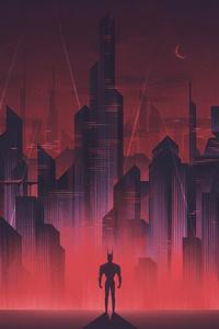 Batman Gotham Neon