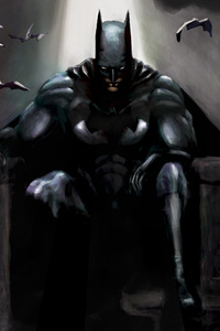 Batman Gothic Contemplation