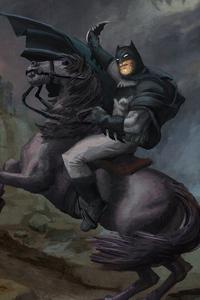 Batman Horse 4k