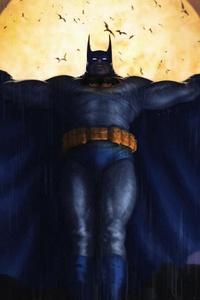 1440x2960 Batman Illustration 4k 2018