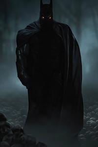Batman In Dark 4k 2020