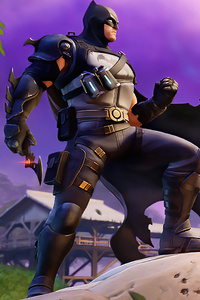 640x1136 Batman In Fortnite Game 5k