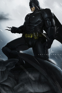 Batman In Night Art