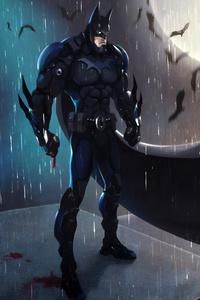 Batman In The Night Art