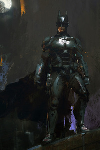 Batman In The Night Artwork