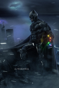 Batman Infinity Gauntlet Art