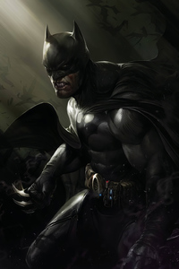 540x960 Batman Injured Art