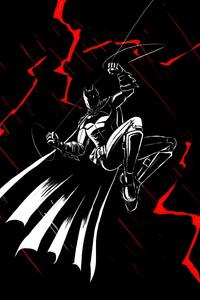 Batman Ink Art 4k