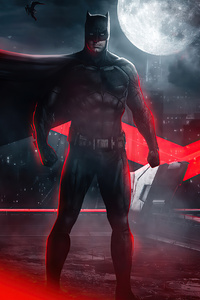 320x480 Batman Justice League 2020 4k
