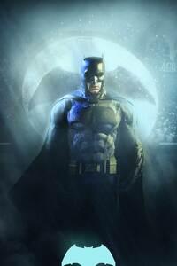 640x960 Batman Justice League 4k 2017 Art