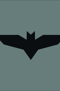 Batman Justice League Logo Minimalism