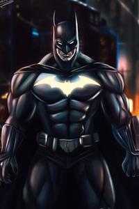 320x480 Batman Kinght Art
