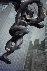 540x960 Batman Knight Rainy Day 5k