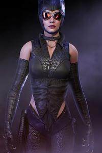 800x1280 Batman Knightfall Catwoman 4k