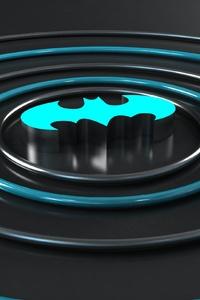480x854 Batman Logo 3d