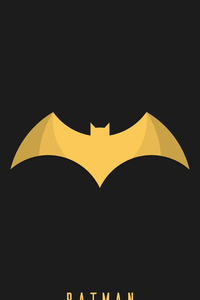 Batman Logo 4k