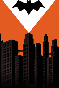 Batman Logo Gotham City