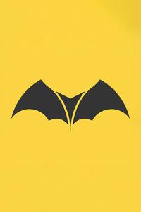 1440x2960 Batman Logo Minimal 4k