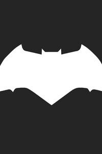 1242x2688 Batman Logo Minimalism