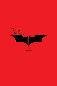 Batman Logo Minimalist