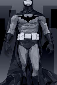 Batman Low Poly 8k
