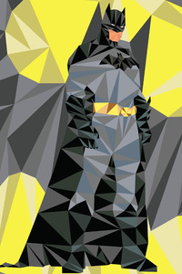Batman Low Poly Art