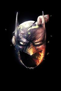 2160x3840 Batman Mask 4k