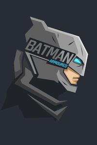 Batman Mask Minimalism 8k