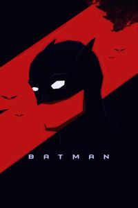640x1136 Batman Minimal Dark 5k